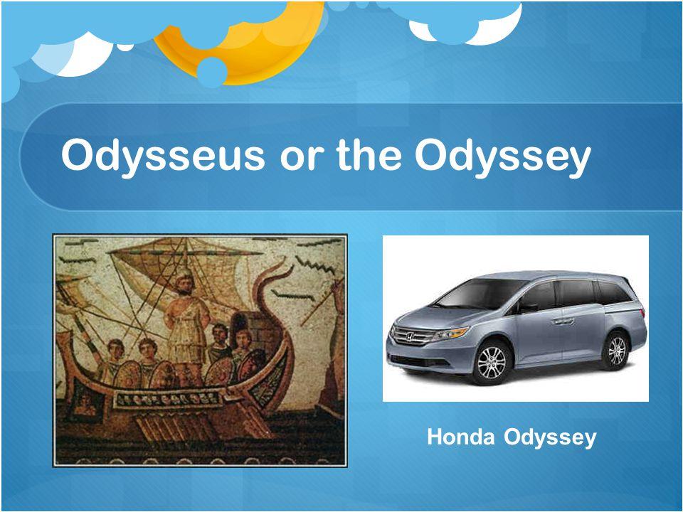 Odysseus or the Odyssey