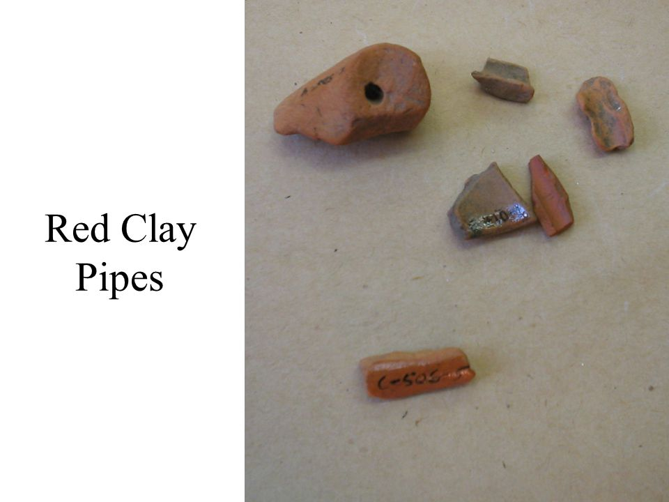 Red Clay Pipes