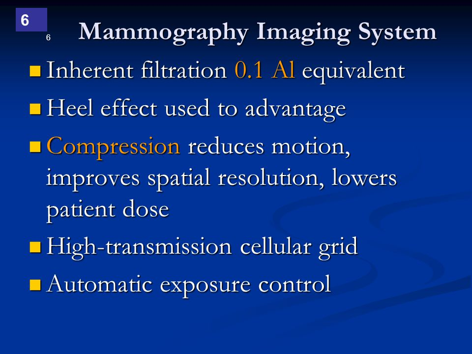 Mammography Imaging System
