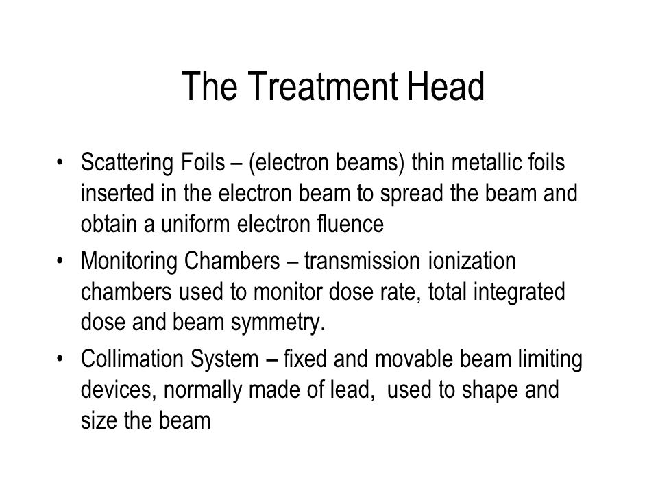 The Treatment Head
