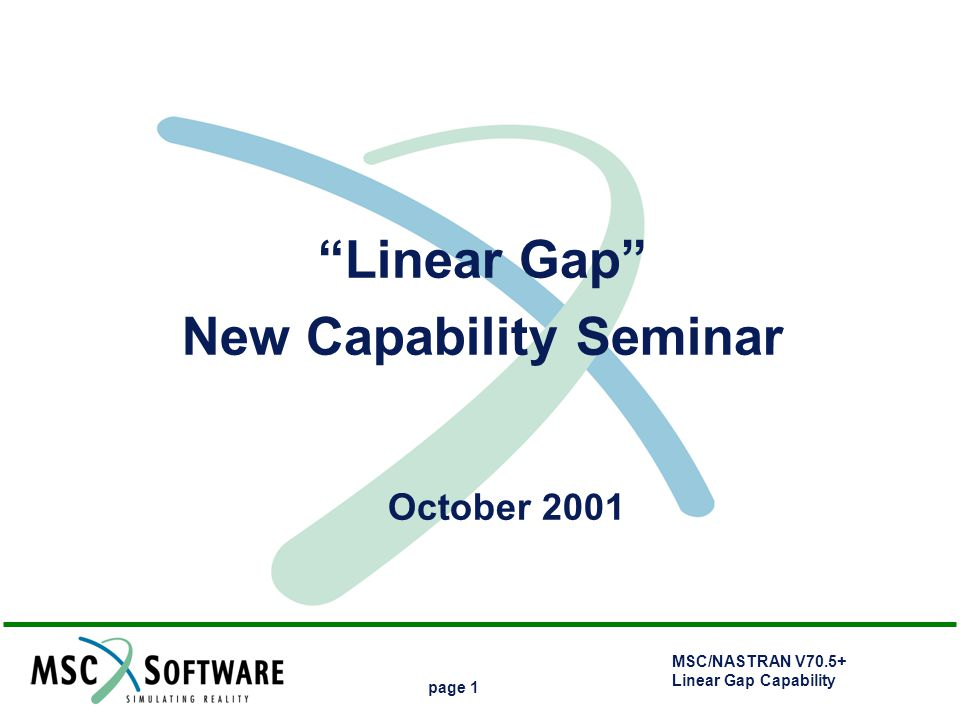New Capability Seminar