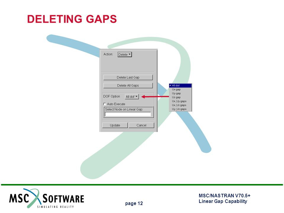 DELETING GAPS