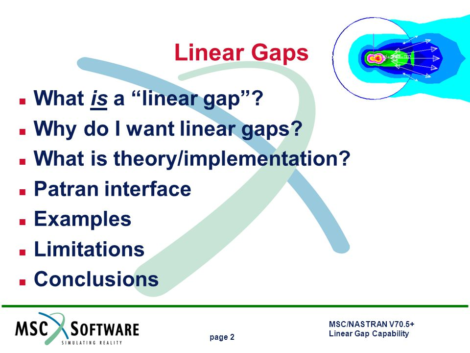 Linear Gaps What is a linear gap Why do I want linear gaps