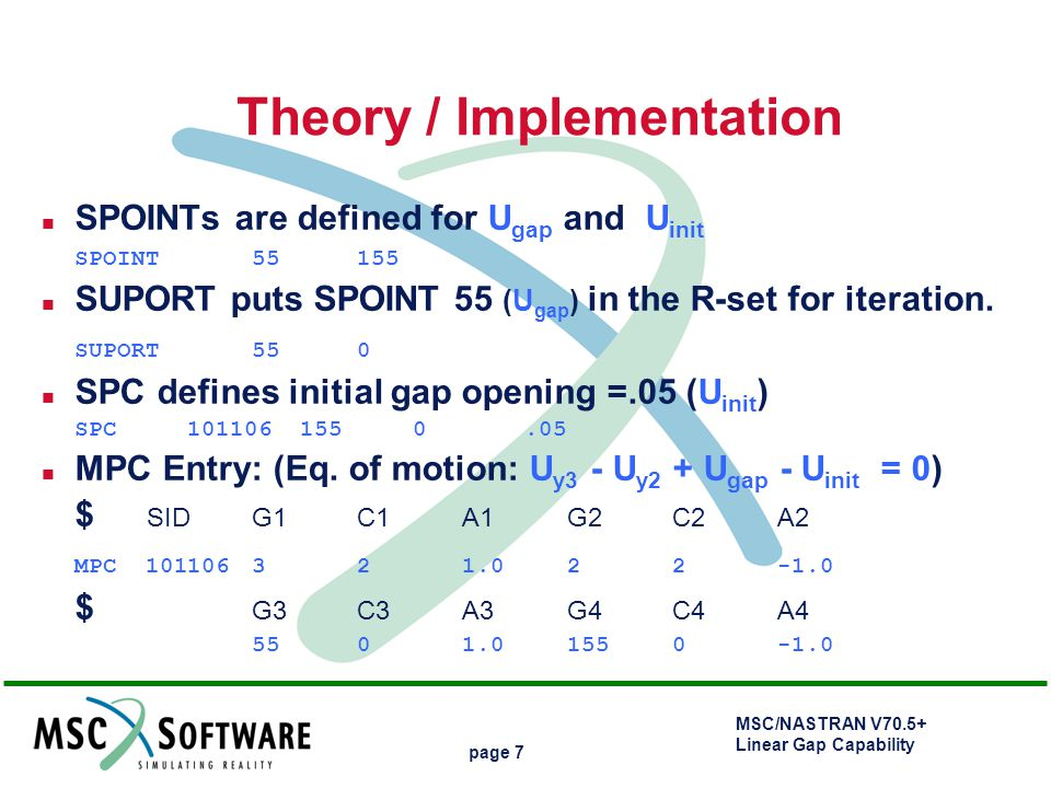 Theory / Implementation