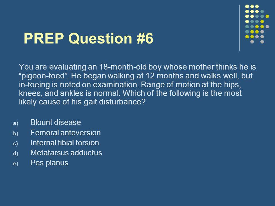 PREP Question #6