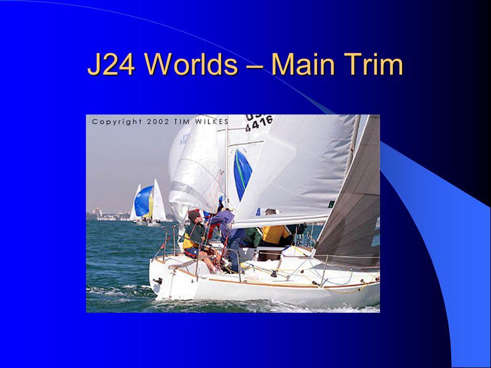 J24 Worlds – Main Trim
