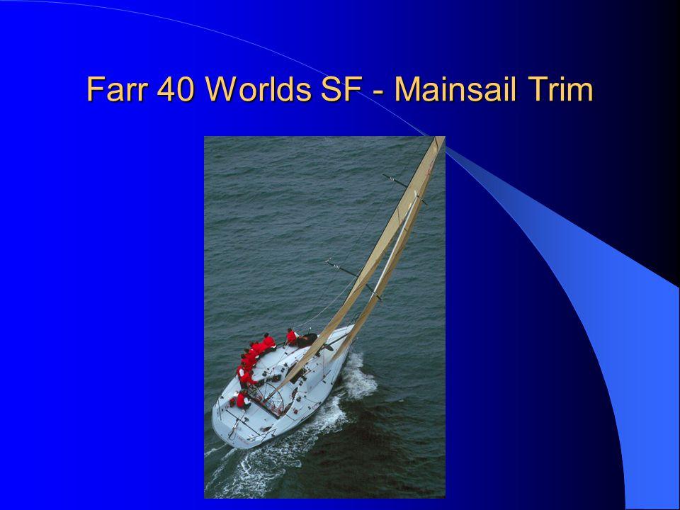 Farr 40 Worlds SF - Mainsail Trim