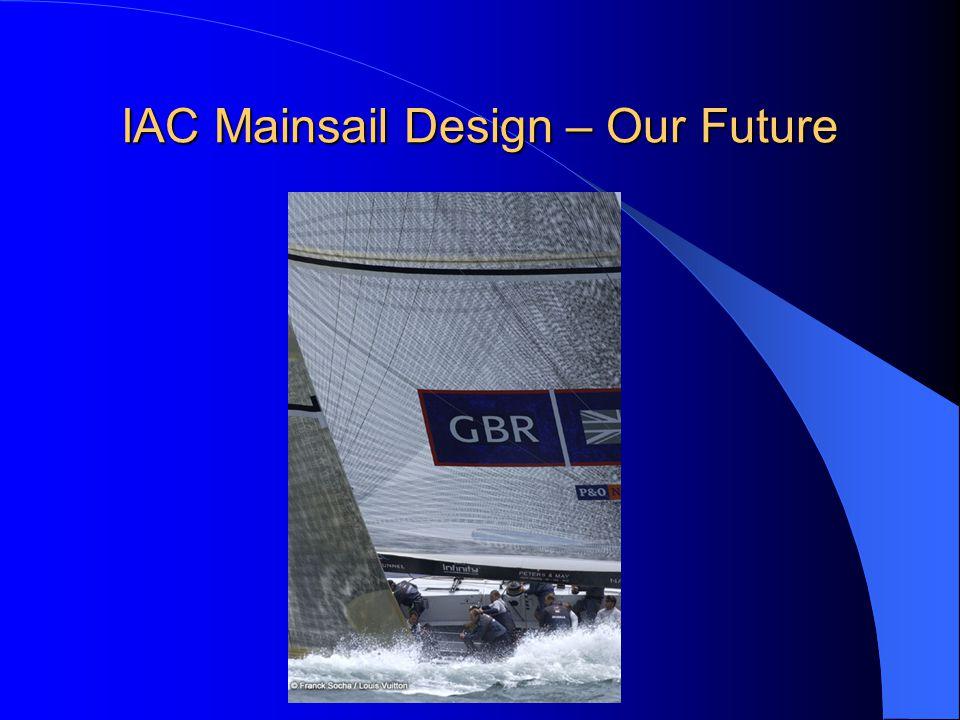 IAC Mainsail Design – Our Future