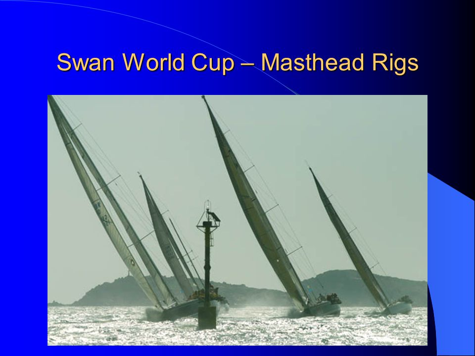 Swan World Cup – Masthead Rigs