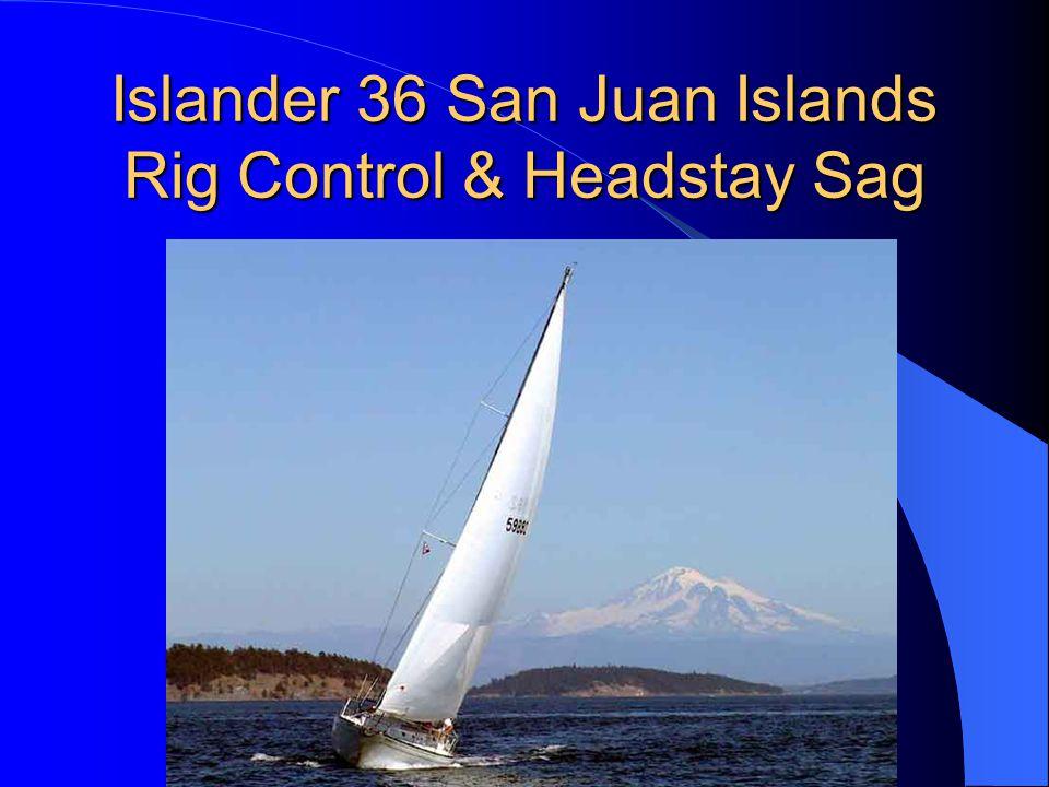 Islander 36 San Juan Islands Rig Control & Headstay Sag