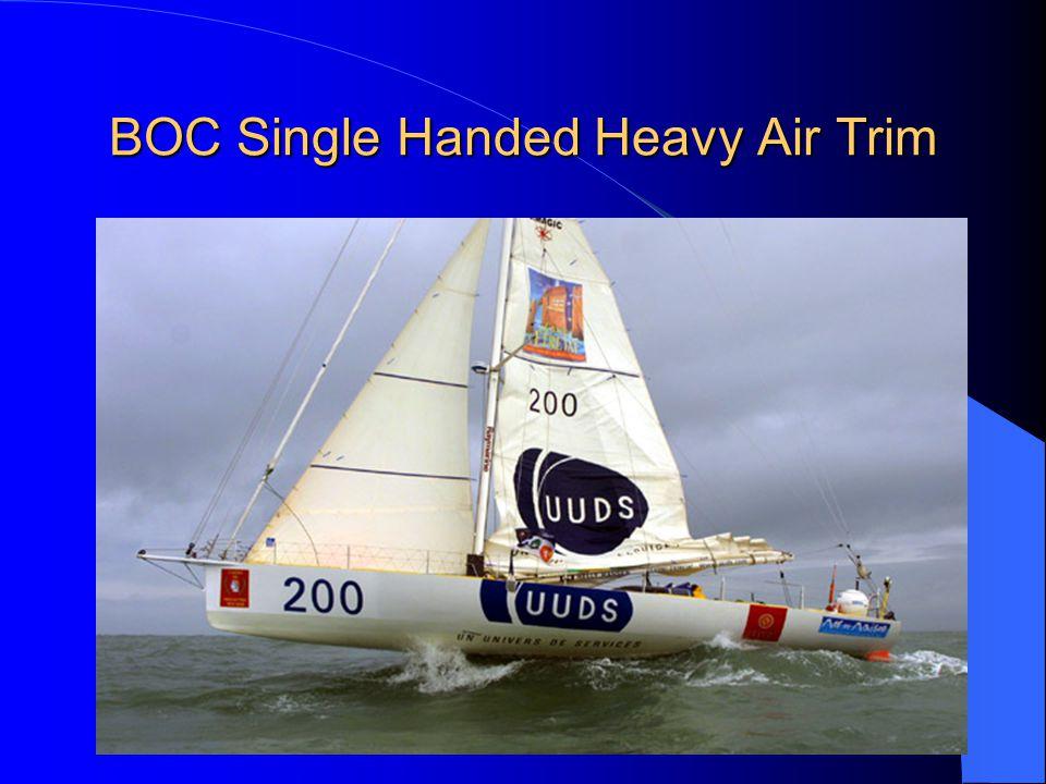 BOC Single Handed Heavy Air Trim
