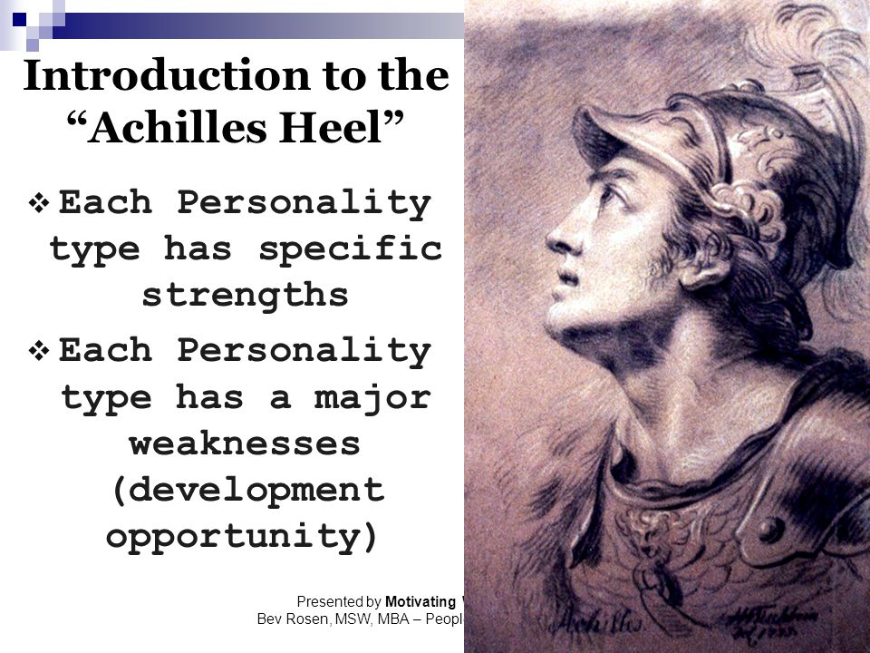 Introduction to the Achilles Heel