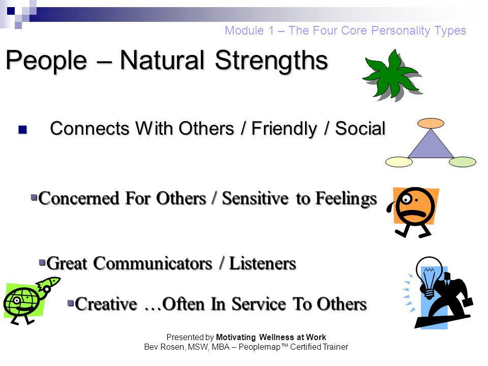 People – Natural Strengths