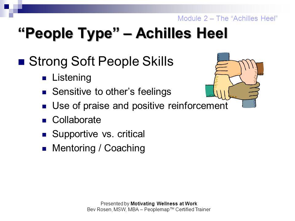 People Type – Achilles Heel