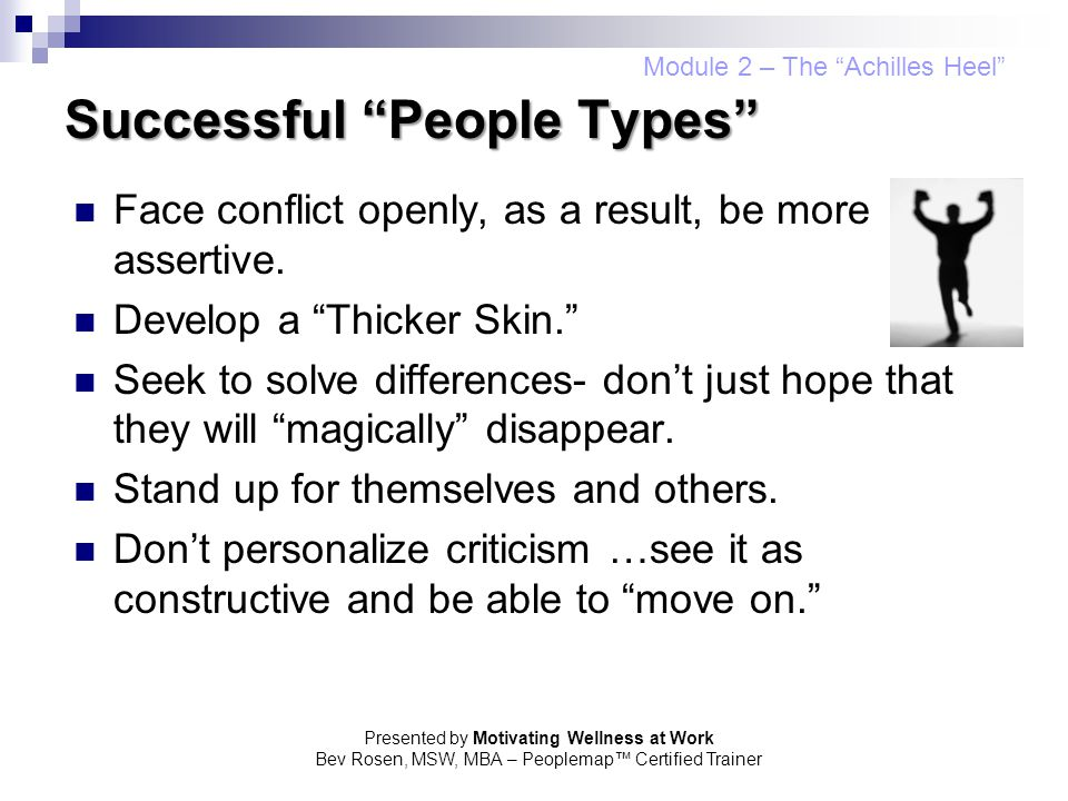 Successful People Types