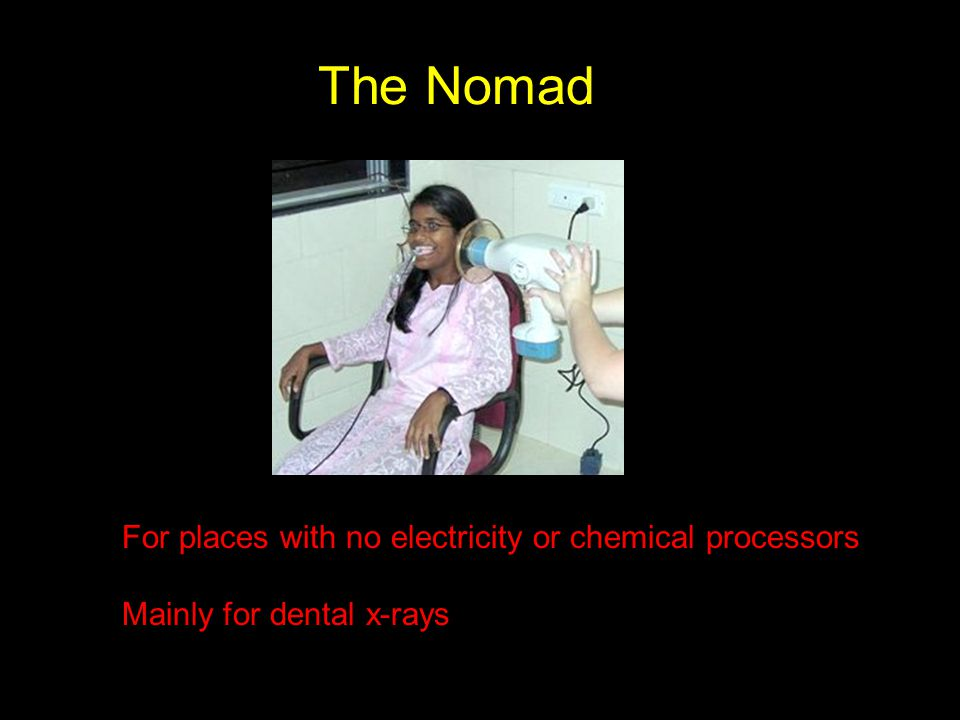 The Nomad For places with no electricity or chemical processors