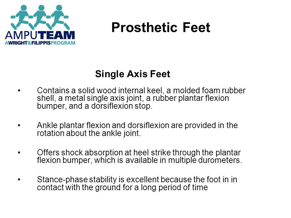 Prosthetic Feet Single Axis Feet