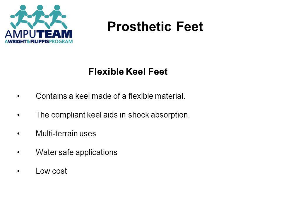 Prosthetic Feet Flexible Keel Feet