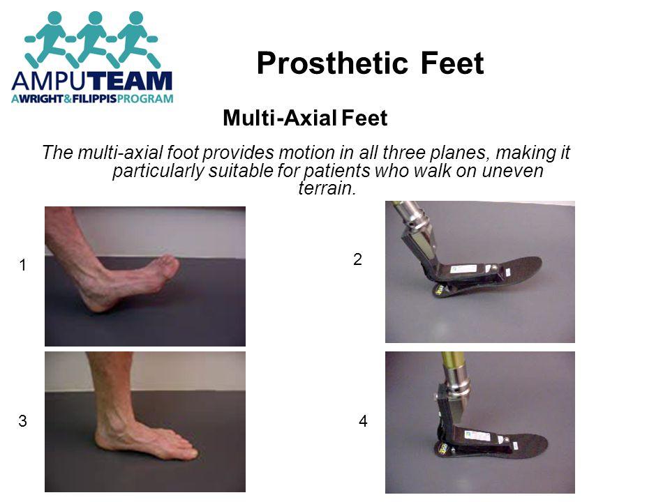 Prosthetic Feet Multi-Axial Feet
