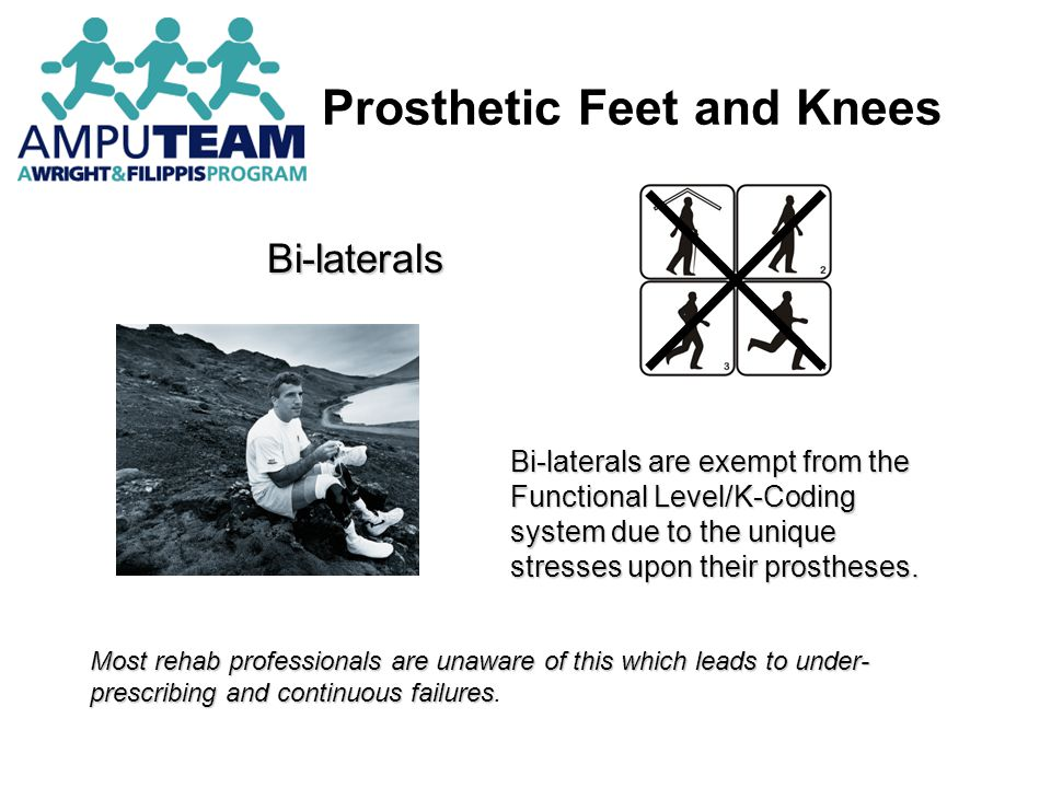 Prosthetic Feet and Knees