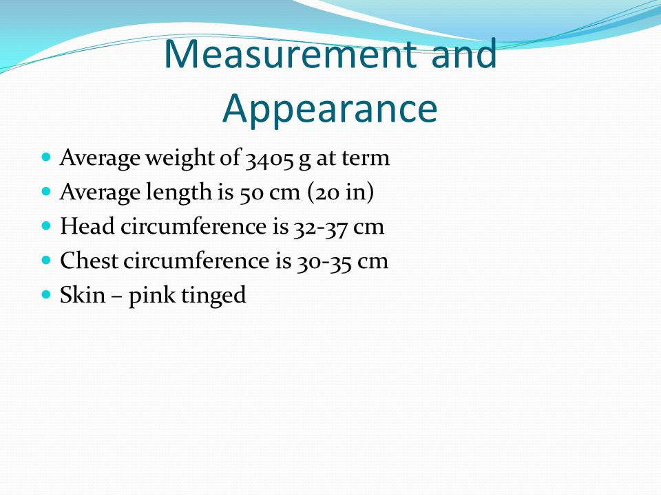 Measurement and Appearance