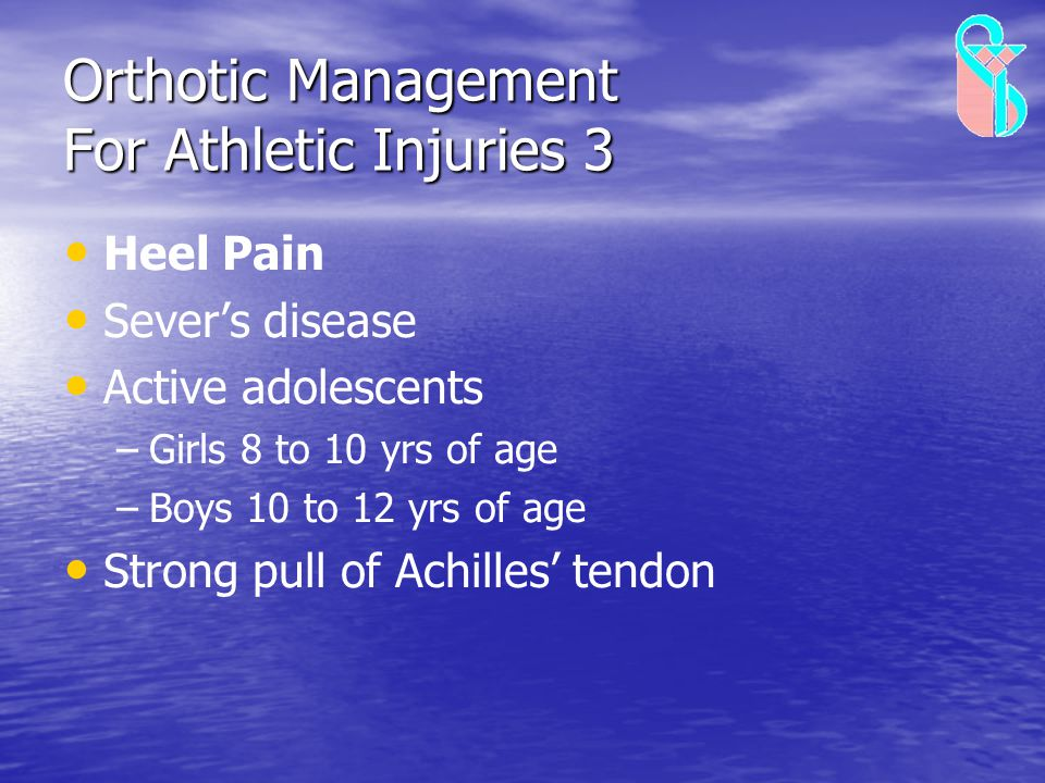 Orthotic Management For Athletic Injuries 3