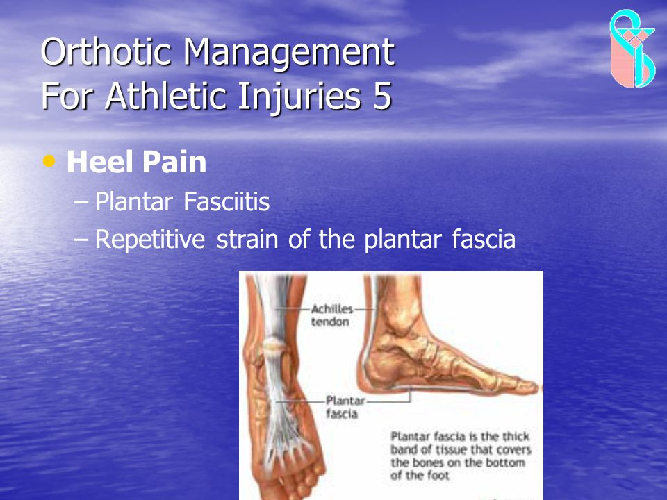 Orthotic Management For Athletic Injuries 5