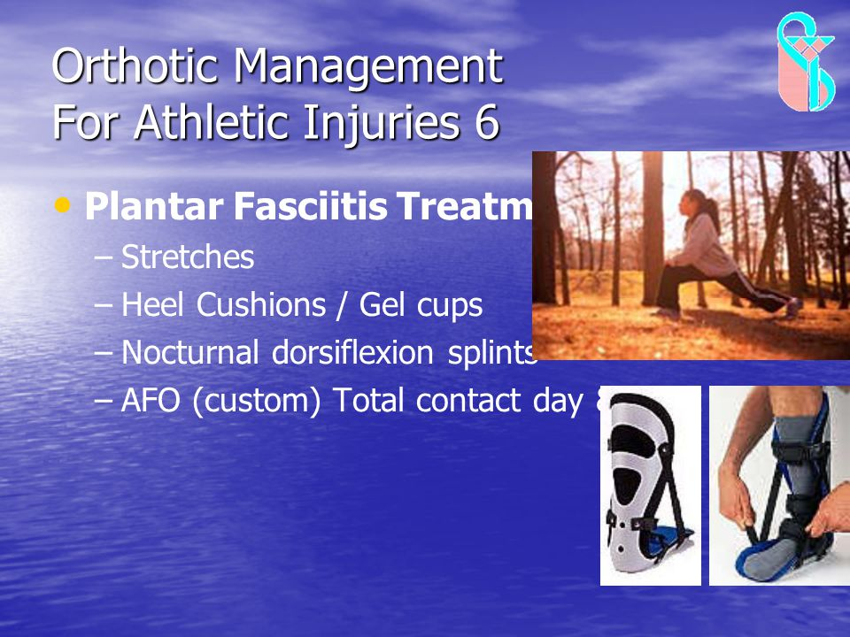 Orthotic Management For Athletic Injuries 6