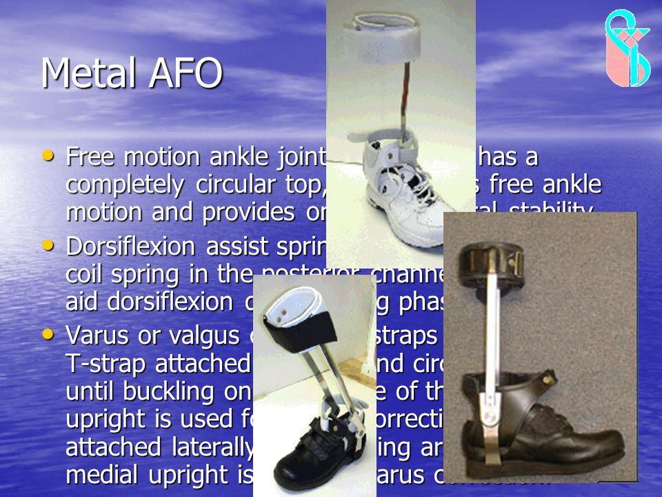 Metal AFO