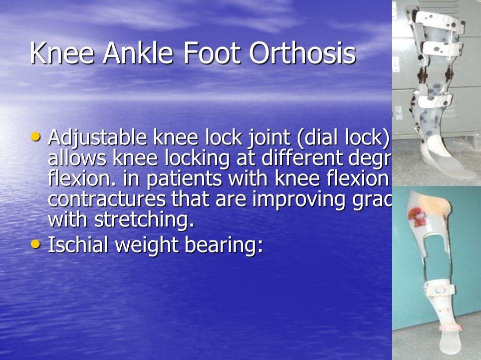 Knee Ankle Foot Orthosis
