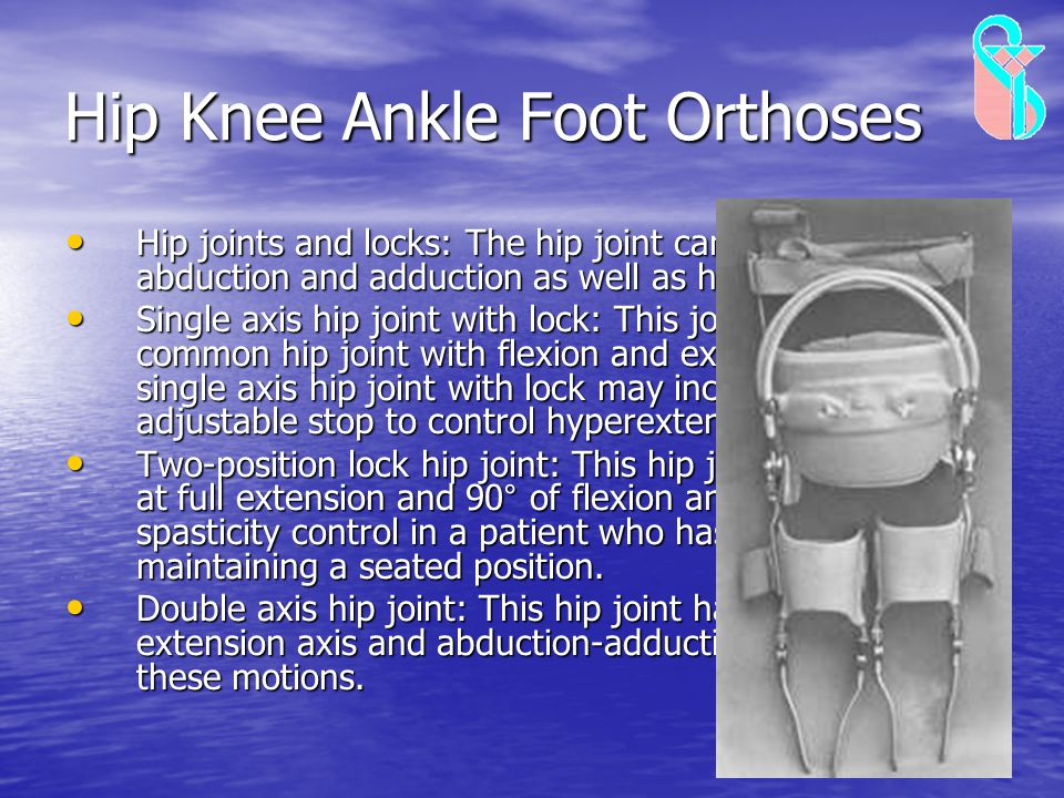 Hip Knee Ankle Foot Orthoses
