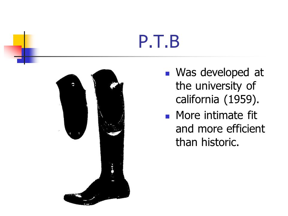 P.T.B Was developed at the university of california (1959).