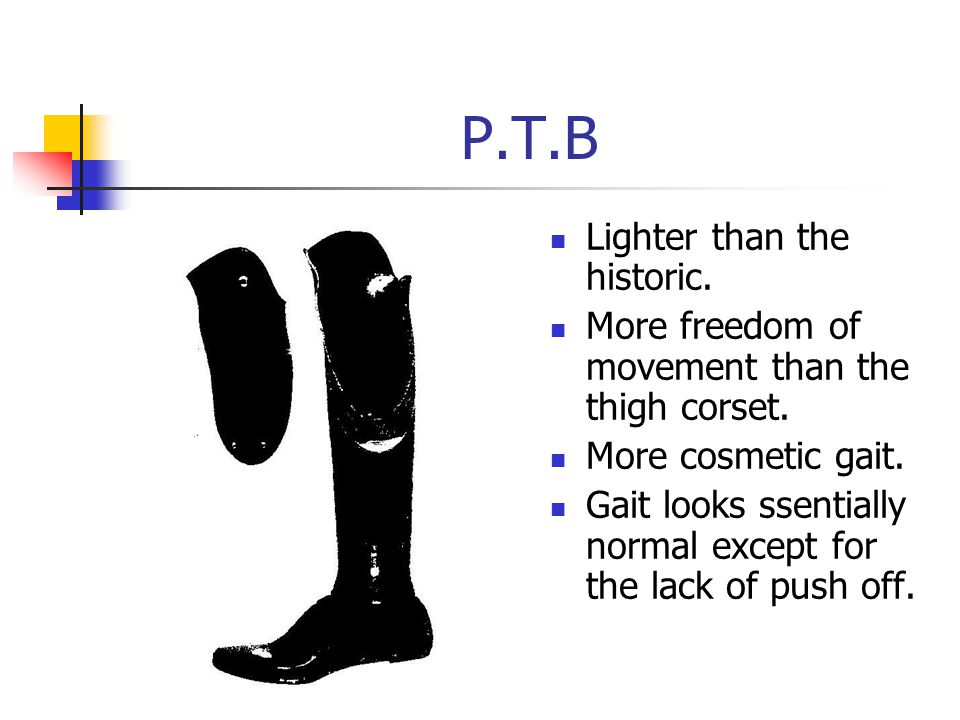 P.T.B Lighter than the historic.