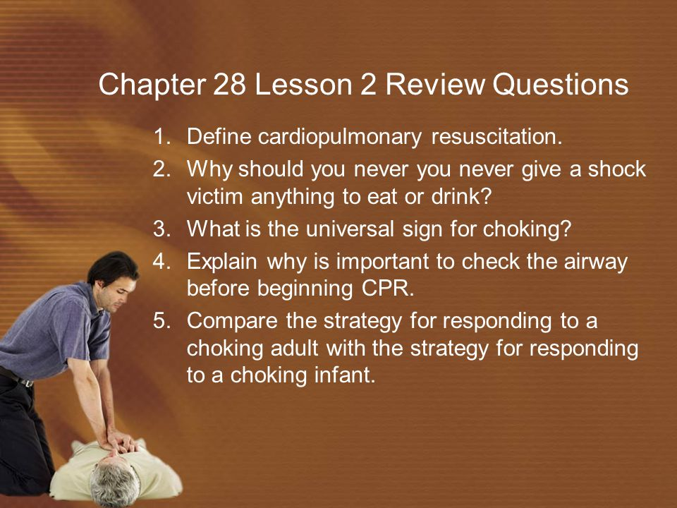 Chapter 28 Lesson 2 Review Questions