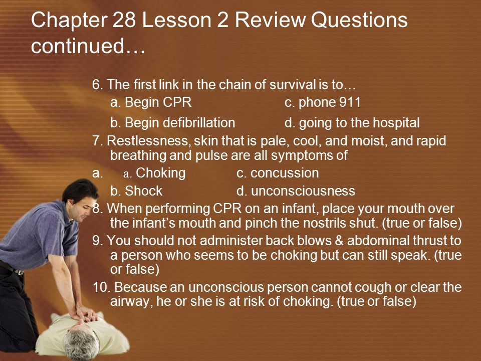 Chapter 28 Lesson 2 Review Questions continued…