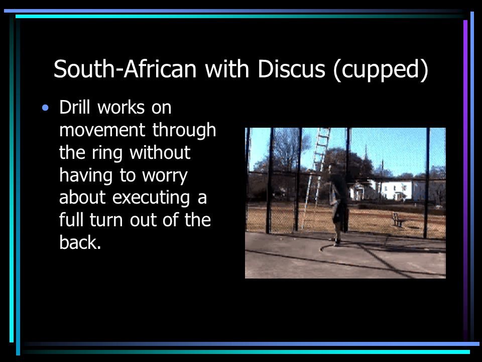 South-African with Discus (cupped)