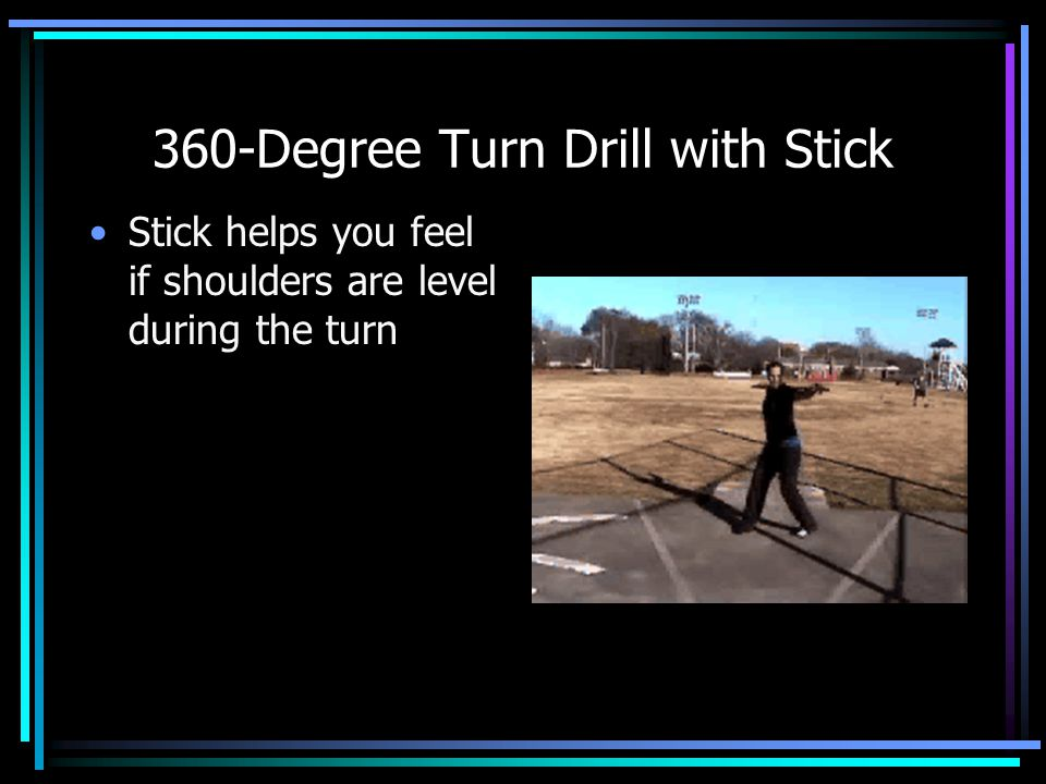 360-Degree Turn Drill with Stick