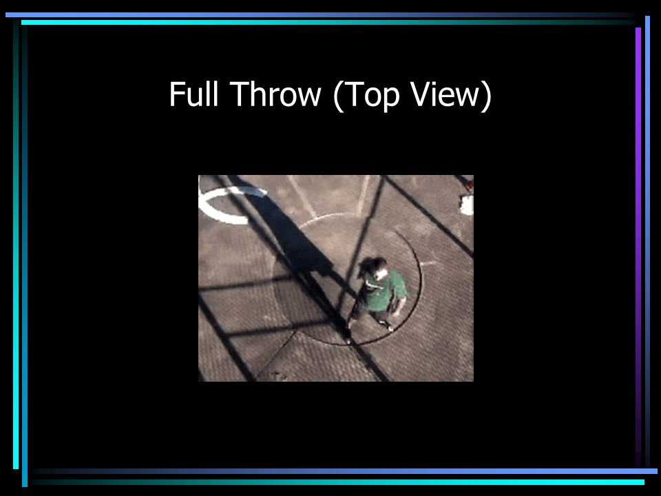 Full Throw (Top View)