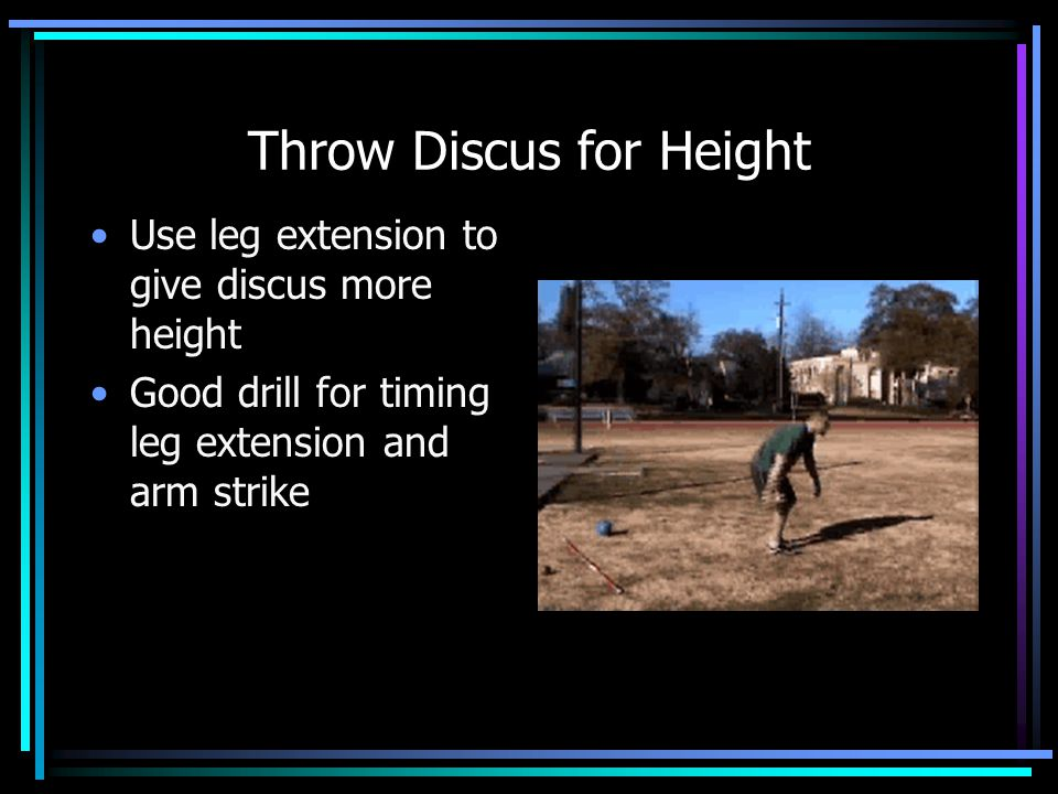 Throw Discus for Height