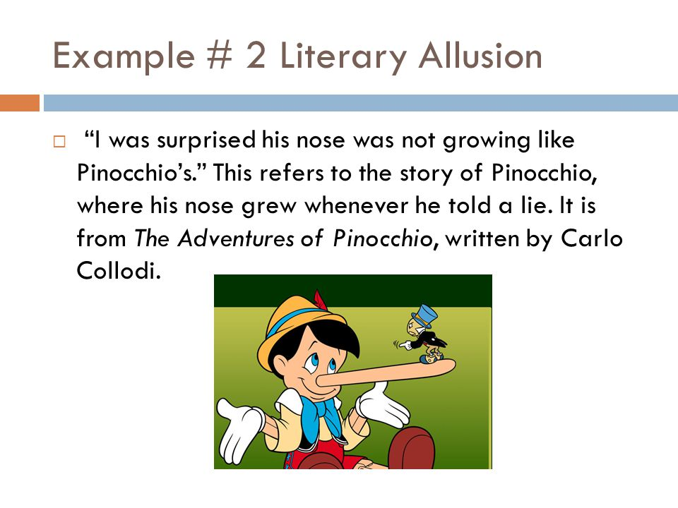 Literary allusion examples allusion definition in literature.