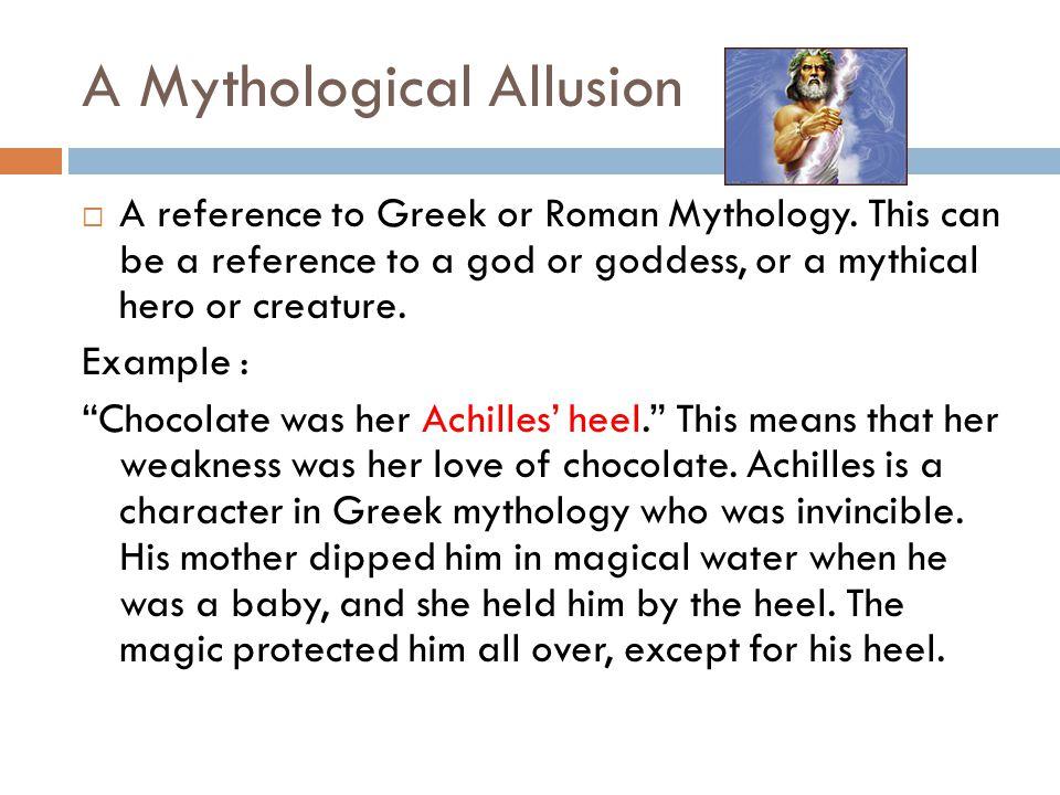 A Mythological Allusion