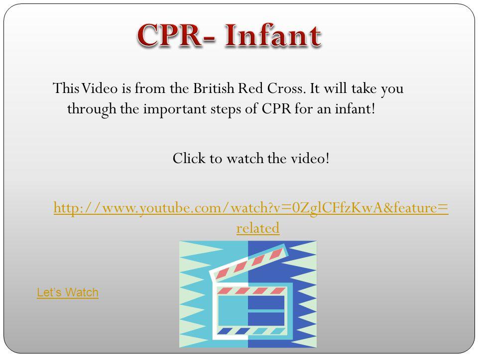 CPR- Infant