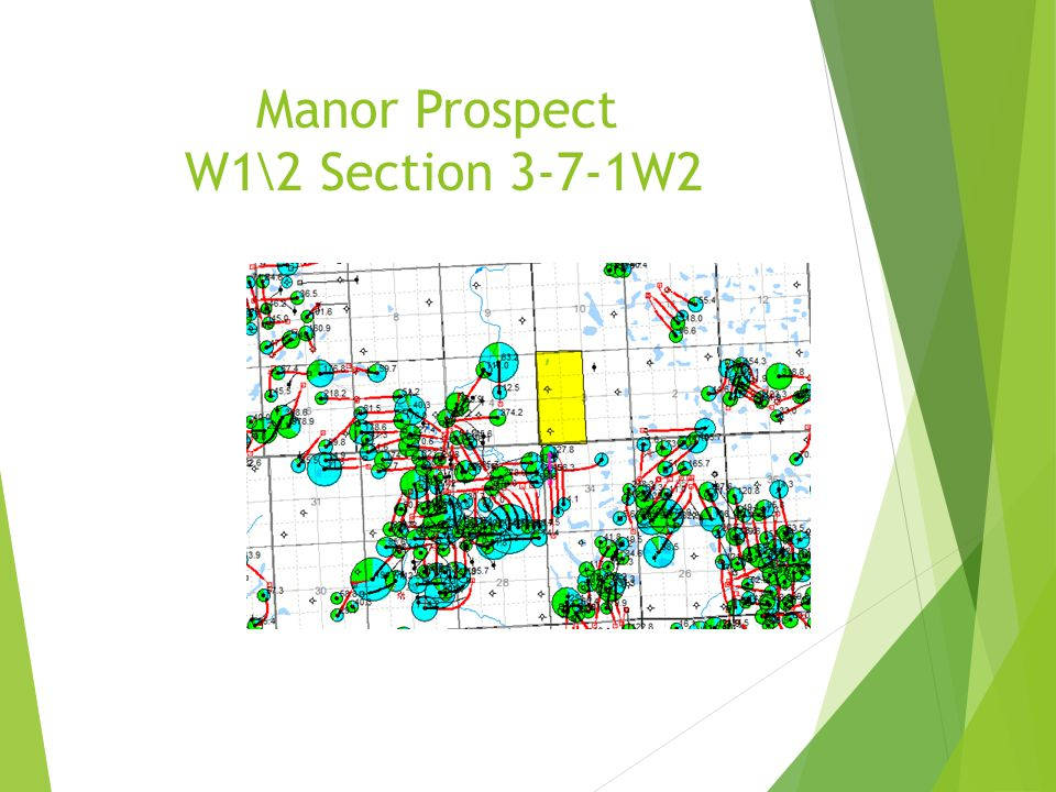 Manor Prospect W1\2 Section 3-7-1W2