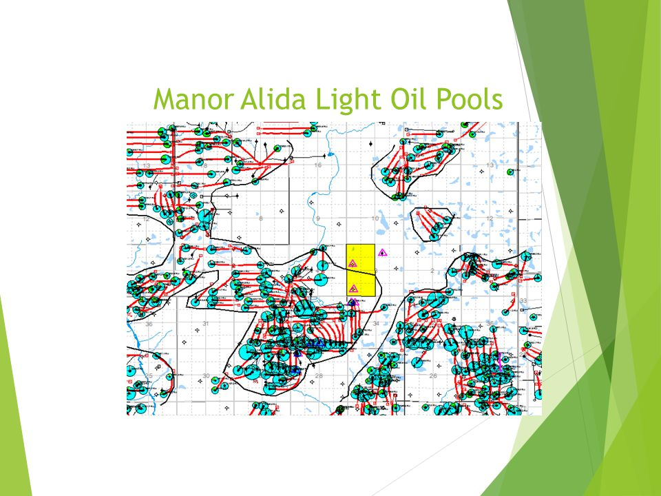 Manor Alida Light Oil Pools