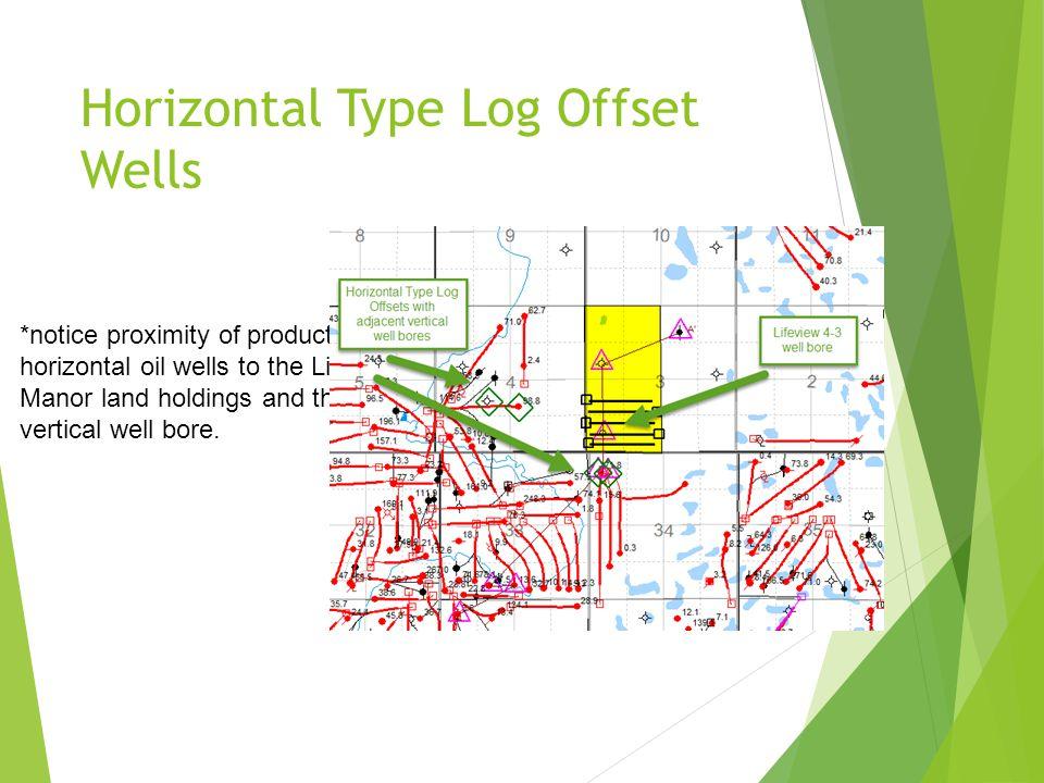 Horizontal Type Log Offset Wells