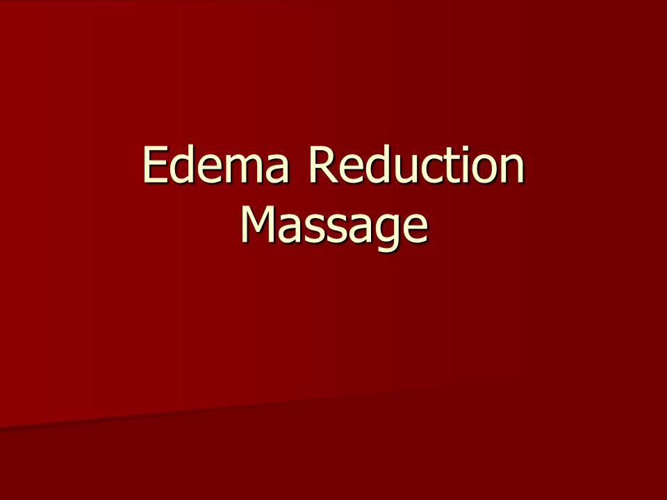 Edema Reduction Massage