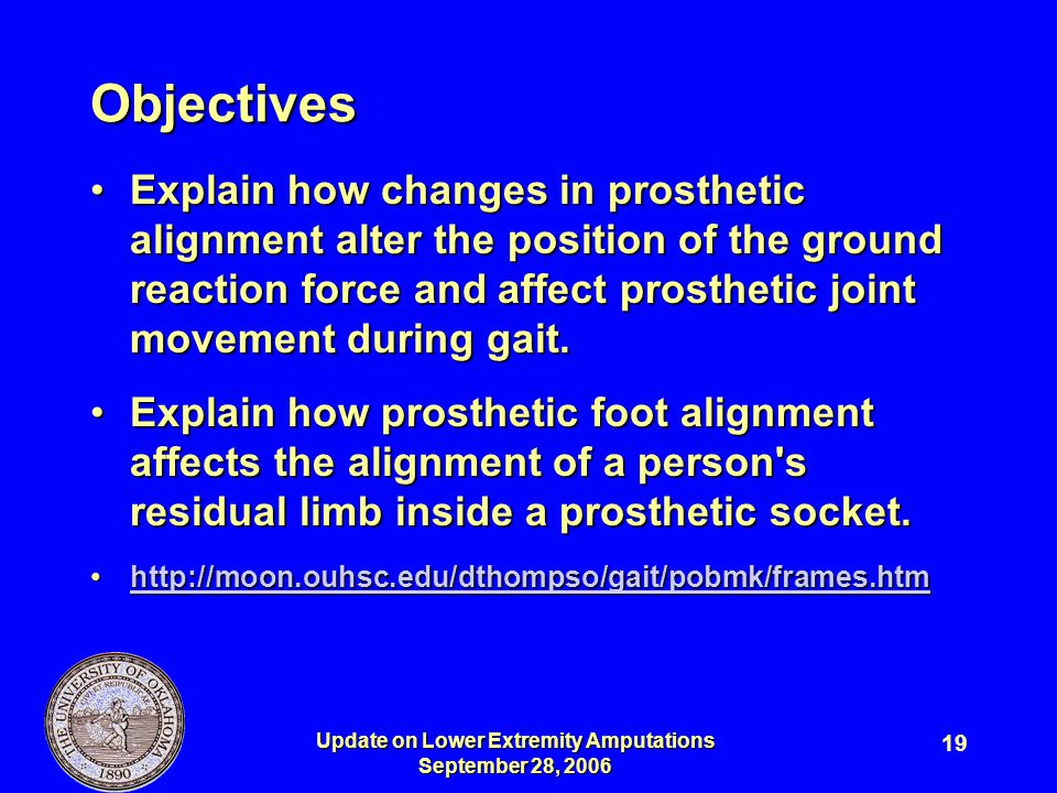 Update on Lower Extremity Amputations