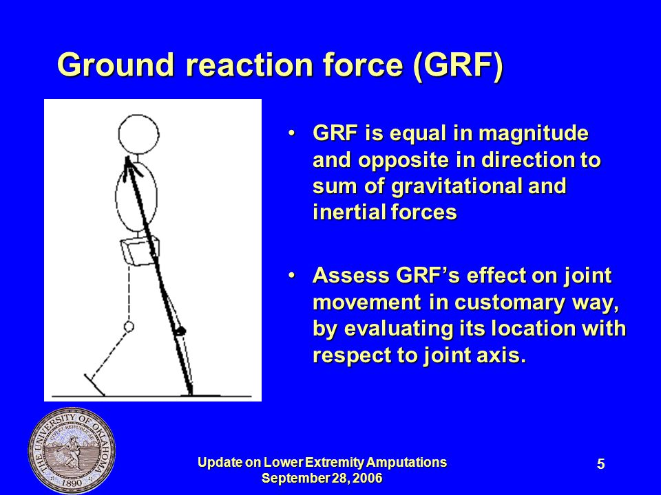 Ground reaction force (GRF)
