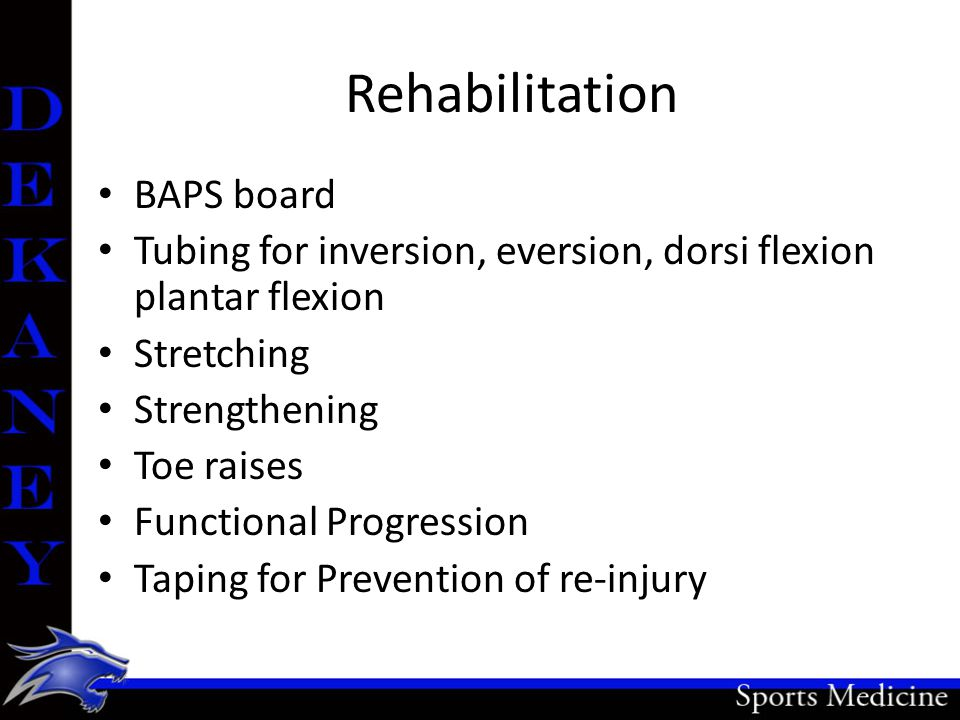 Rehabilitation BAPS board