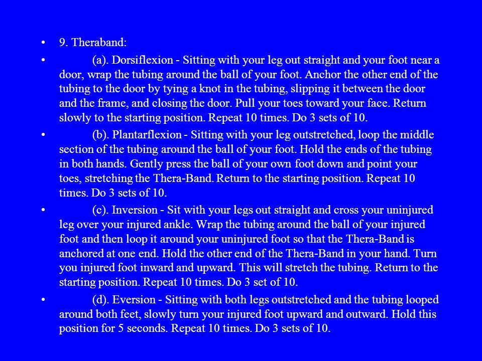 9. Theraband: